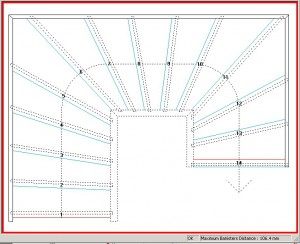 stair template