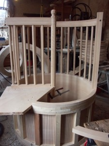 Circular stairwell