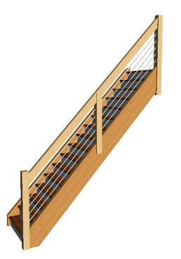 replace banister and spindles