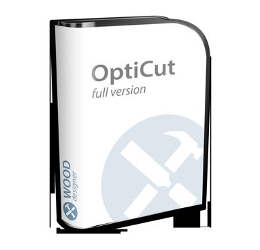 OptiCut | Sheet Cutting Optimization Software | Wood Designer