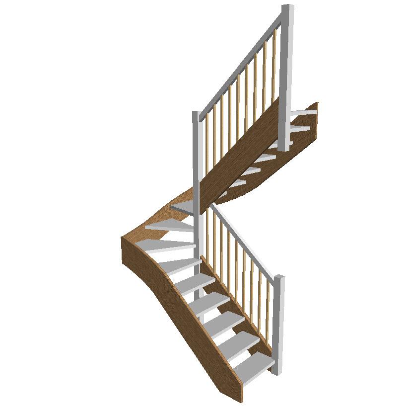 Stair Models Stair 3d Models Wood Designer
