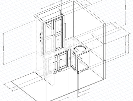 Woodworking Design Software Case Study Cabinet Designer