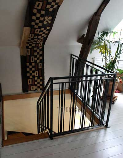 metal-stair-from-above