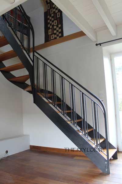 metal-stair-from-below