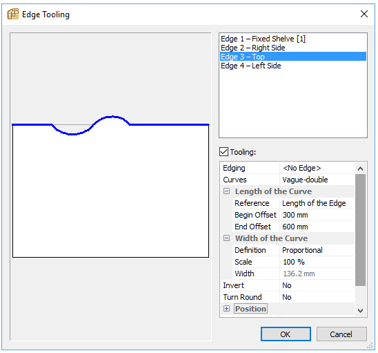 Polyboard curve application