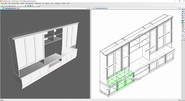 Woodworking Design Software In Action Wood Designer