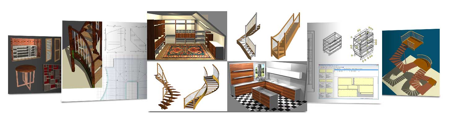 Stair And Furniture Design Software Specialists Wood