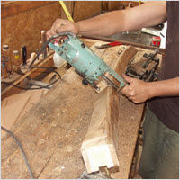 milling wreathed handrails