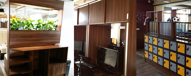 polyboard woodwork software project office fit out