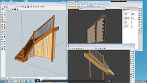 Using StairDesigner with other Software