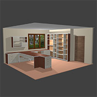 Polyboard home office design