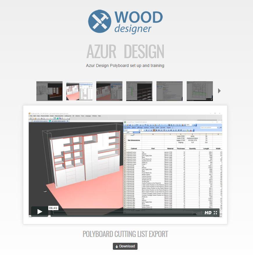 wood designer support