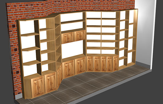 furniture software design and manufacture to corner the