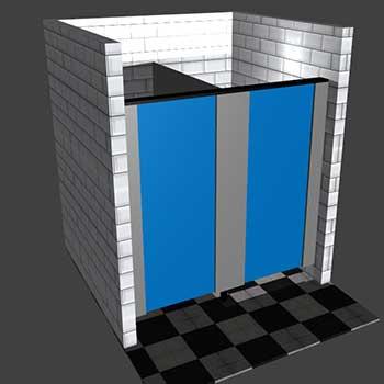 toilet cubicle design software