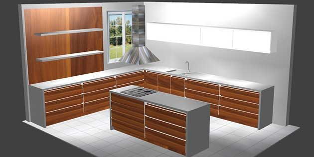Kitchen Design Tool - With 3D Visuals | Wood Designer