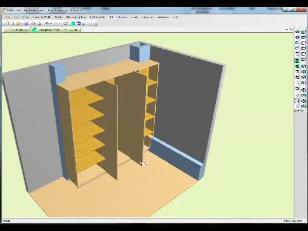 Design furniture around columns
