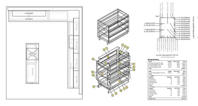 kitchen software plans