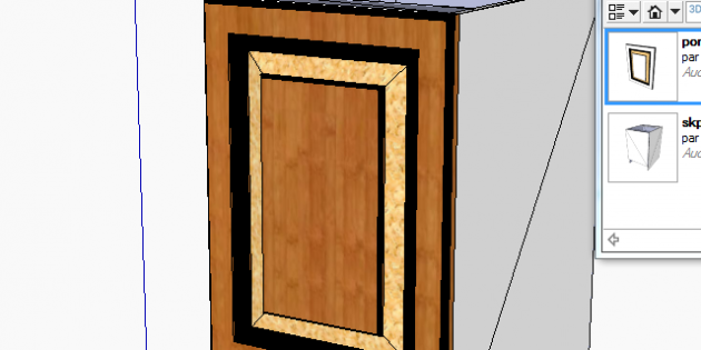 Designing furniture with SketchUp and Polyboard