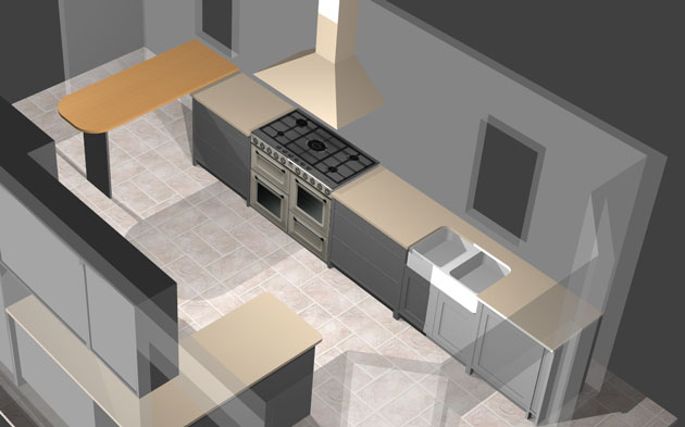 Polyboard kitchen project