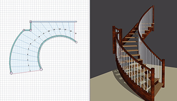 or design in StairDesigner
