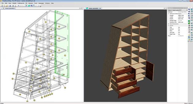 cabinet making software