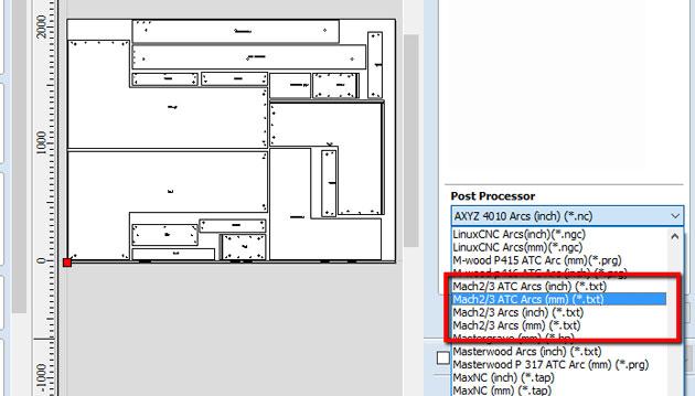 Mach3, Mach4 and alternatives to LazyCam | Wood Designer