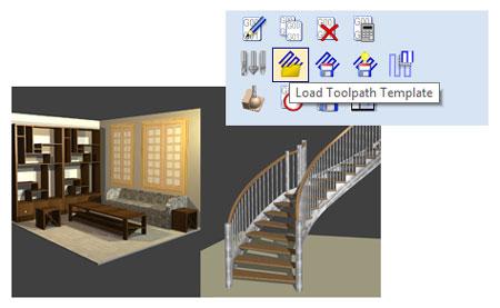 vcarve and polyboard stairdesigner integration
