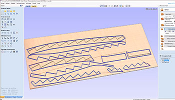 vcarve stair parts nested from stairdesigner