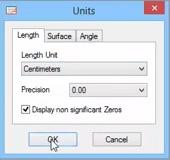 change units in opticut
