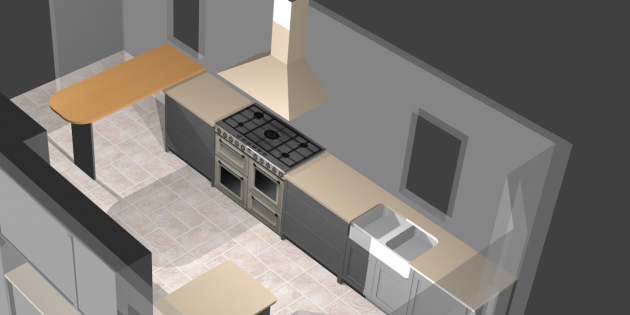 3D kitchen design made easy with Polyboard | WOOD DESIGNER