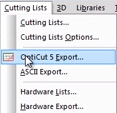 opticut export to Polyboard