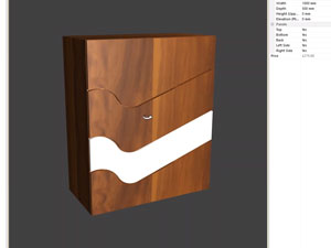 drawer management in cabinet software