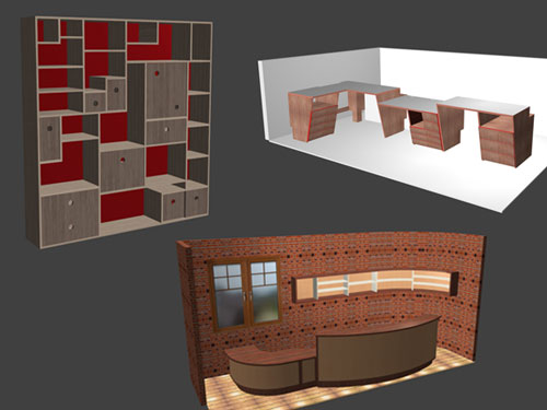 3D office design software