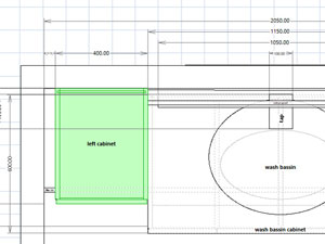 bathroom design software plan view