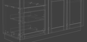 Designing cabinets with Polyboard