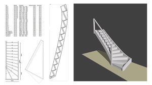 link to stairdesigner output videos