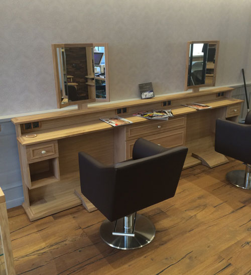 Hairdresser furniture design