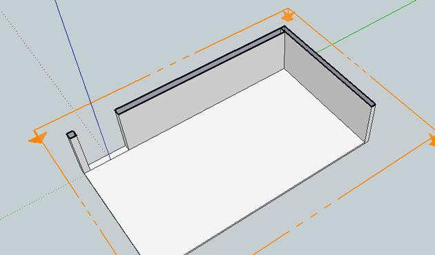 lower floor stairwell plan