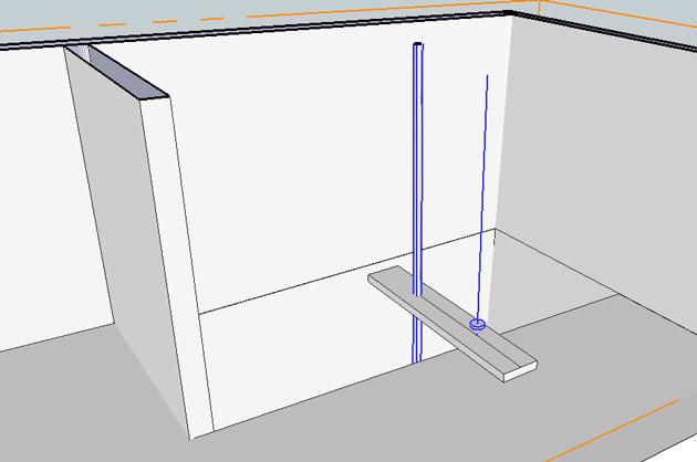 stairwell vertical measurements