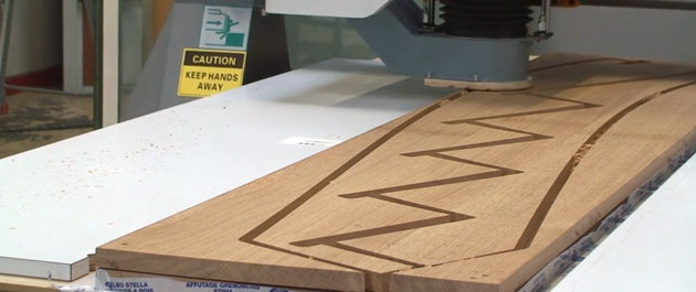 stair stingers on cnc