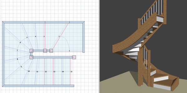 free stair design software