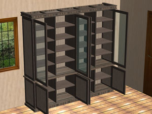 wardrobe made by polyboard cabinet design software