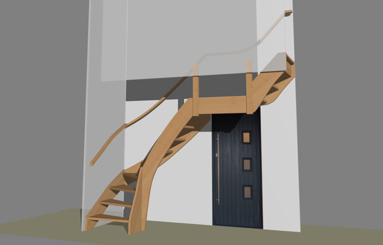 Free Stair Design Software Stairdesigner And More Wood Designer