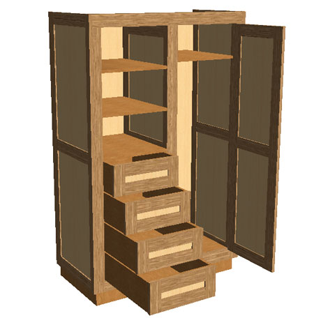 Polyboard cabinet design edit