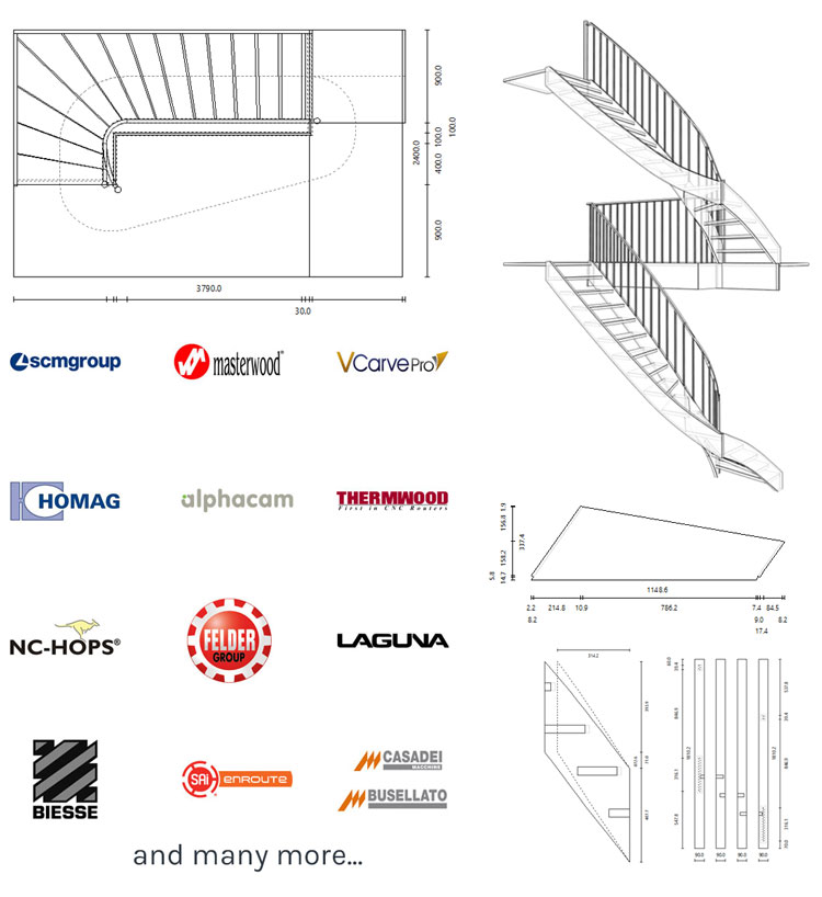 stair manufacturing output