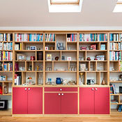 fitted shelving using polyboard software