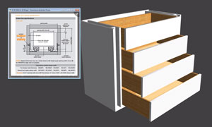 drawer options in polyboard