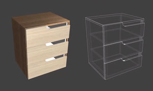 handle cut outs in polyboard