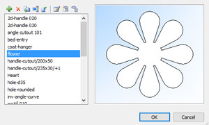 dxf import in polyboard