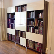 bookcase using polyboard